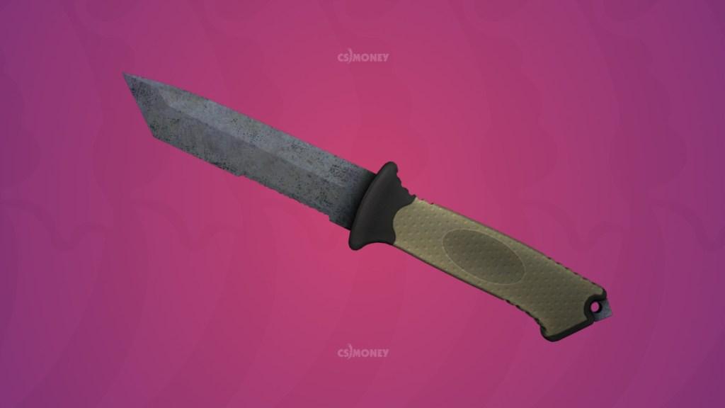 медвежий нож вороненая сталь