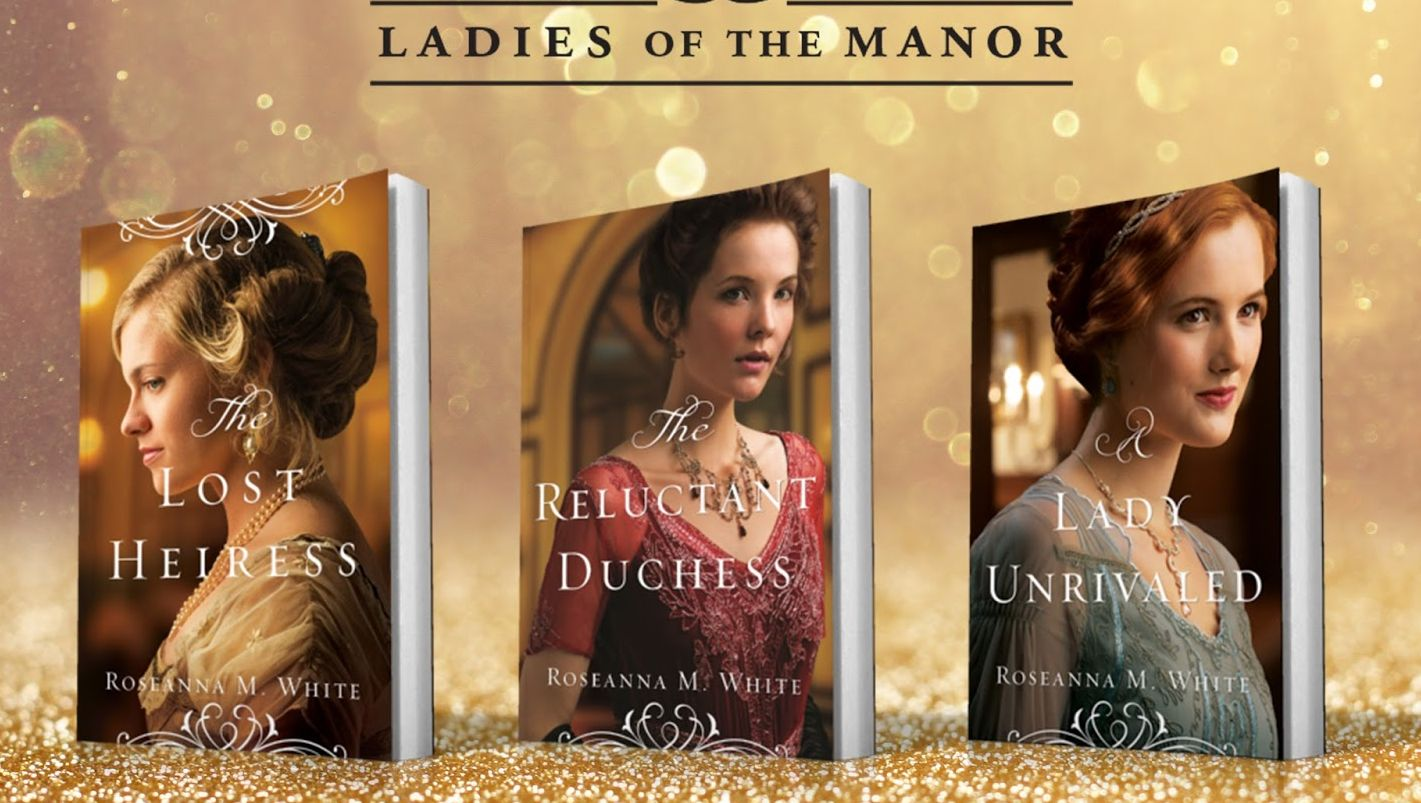 Image result for The Ladies of the Manor series by roseanna m white