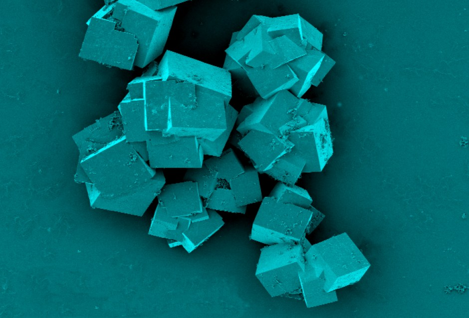 Up close and personal: a microscopic look at metal organic framework crystals