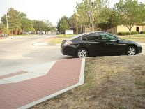 Don't park within 20 feet of a marked or unmarked crosswalk.