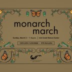 Sunday's Monarch March marks spring migration