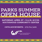Saturday's Open House your key to all things summer