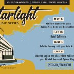 Popular Starlight music series begins Saturday, May 4
