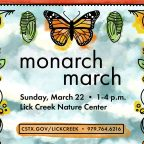 Celebrate the monarch's spring migration March 22