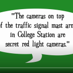 Video: Why are there cameras on traffic signal arms?