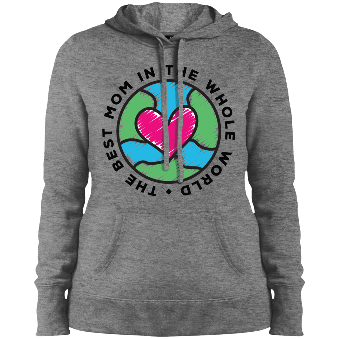 this image is used to give an example of print on demand mother's day hoodie