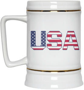 USA Beer Mug
