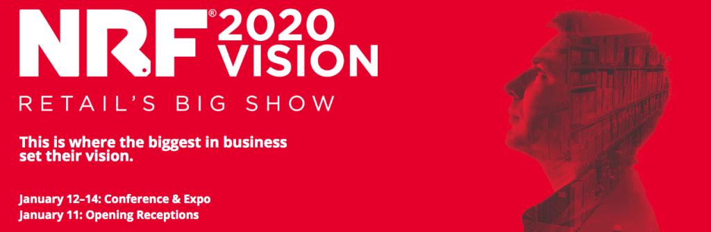 NRF 2020 Vision Conference banner