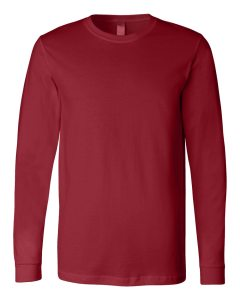 3501 Bella + Canvas Men's Jersey LS T-Shirt