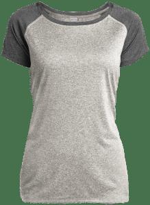 LST362 Sport-Tek Ladies Heather on Heather Performance T-Shirt