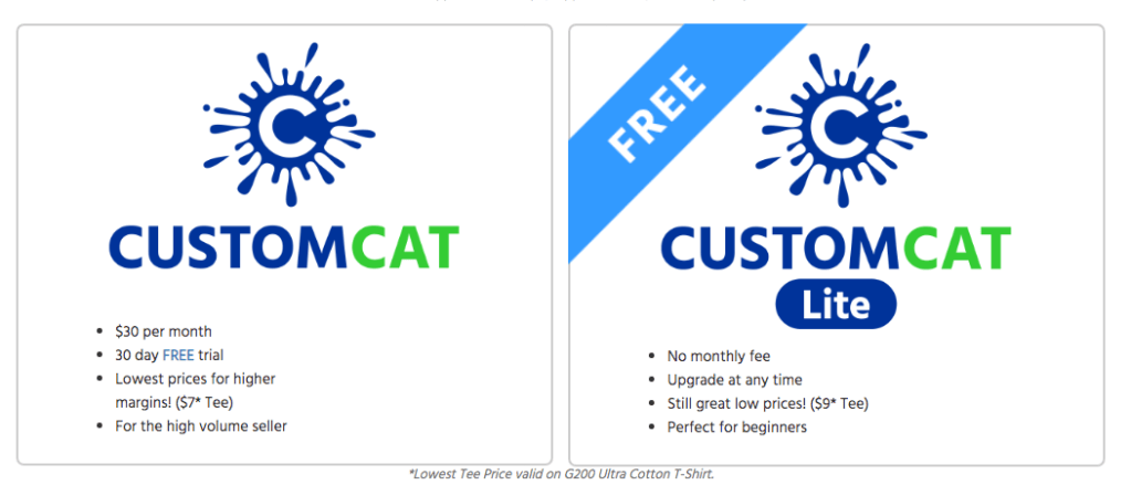 customcat pricing