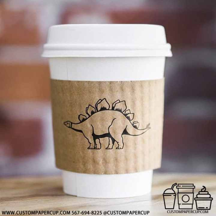 sinosaur stegosaur sleeve ancient hot cup