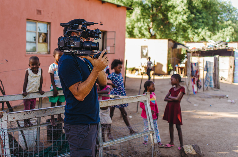Sony FS7 with two UWP 800px