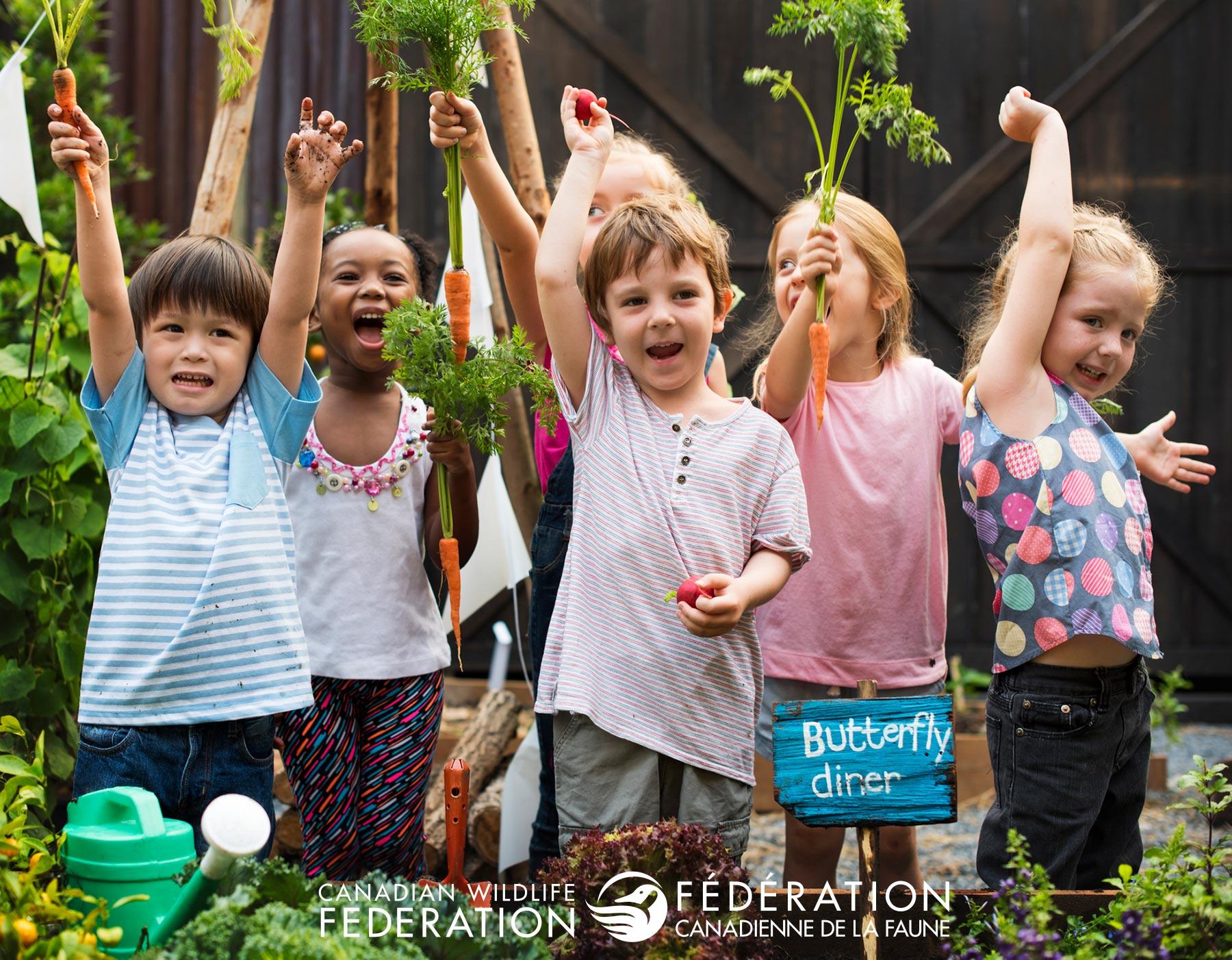 Gardening With Kids Helps Them Grow