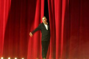 Philippe Faure sur la scène du théâtre de la Coix-Rousse