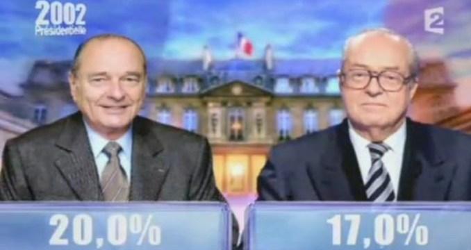 Chirac-Le Pen au deuxième tour : le cauchemar du 21 avril 2002...