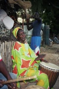 A N'Dangane (Sénégal), en octobre 2010