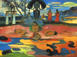 Paul Gauguin - Mahana