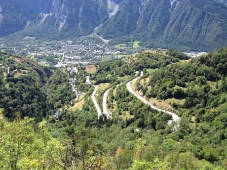 Les virages de l'Alpe d'Huez