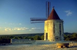Le moulin de Daudet à Fontvieille