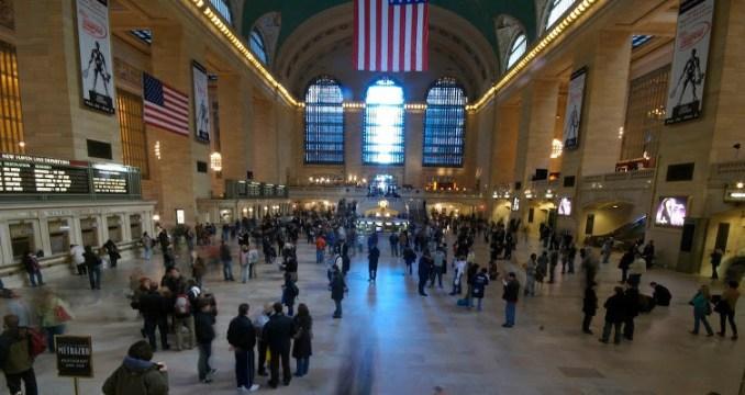 Le hall de Grand Central Terminal