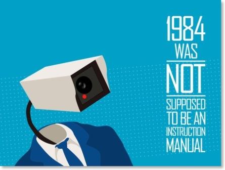 """""""1984 n'était PAS censé être un manuel d'utilisation"""""""