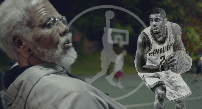 Kyrie Irving is Uncle Drew