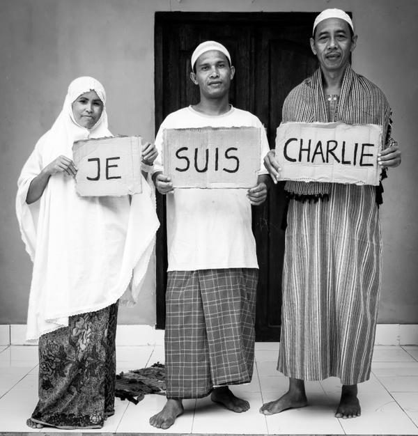 En Indonésie aussi, #jesuischarlie