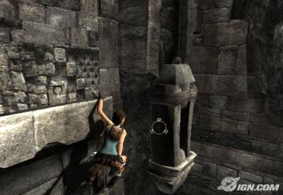 LARA CROFT TOMB RAIDER-ANNIVERSARY (2007) In game Look
