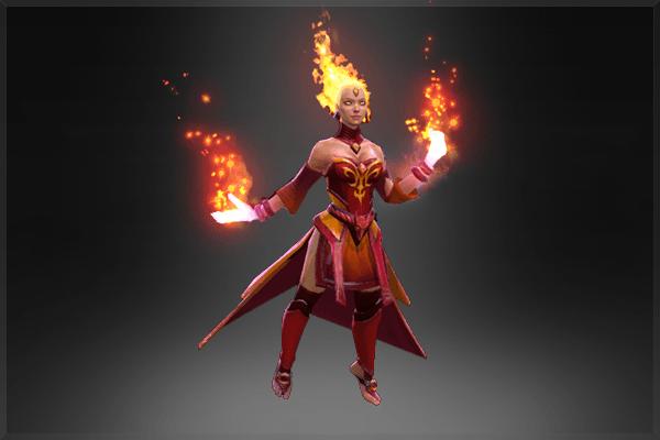 Lina: Fiery Soul of the Slayer