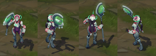Program Soraka, a gentle healbot