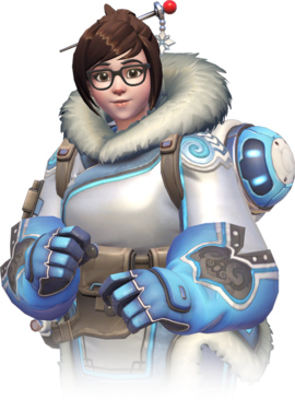 Trying Mei, as your played overwatch in your gaming pc
