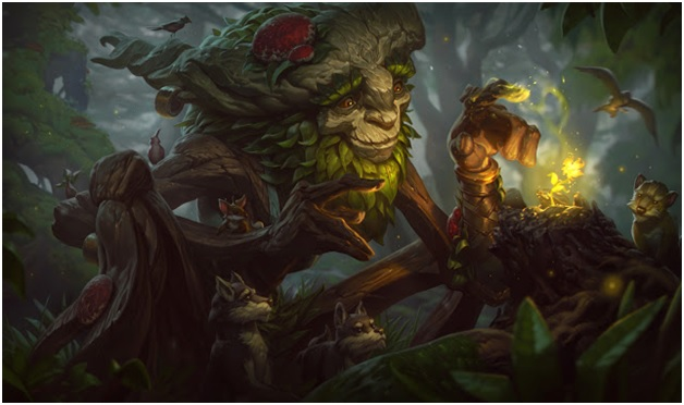 Ivern bramblefoot on LoL