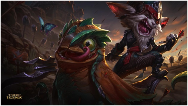 playing kled in league of legends