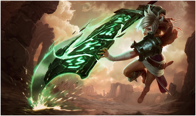 Riven on league of legends