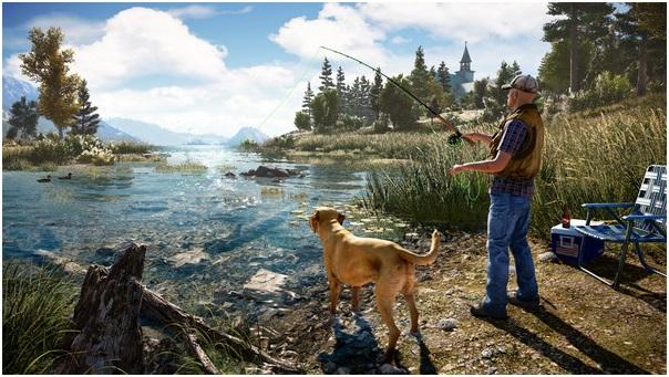Far Cry 5 environment