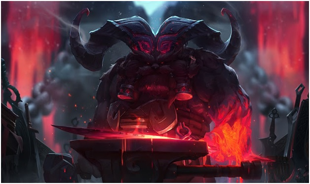 Orrn, The Fire Below the Mountain