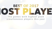 Best of 2017 Most Played Games