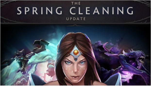 Dota 2 Spring Cleaning Update 2018
