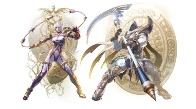Soul Calibur VI Ivy and Zasalamel
