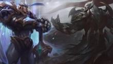 God King Garen and God King Darius