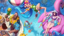 Pool Party Skins 2018