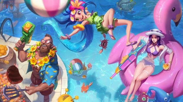 Pool Party Skins 2018 For Your Gaming Computers