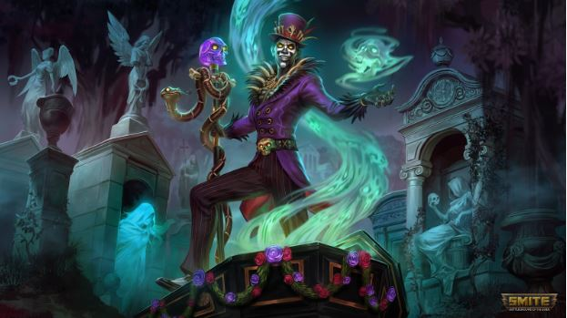 Baron Samedi, Voodoo God Screenshoot From A Gaming PC
