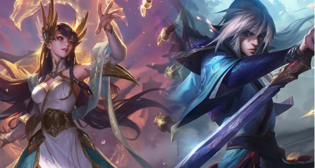 Divine Sword Irelia and Enduring Sword Talon