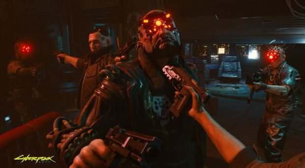 A screenshot of Cyberpunk 2077's DLC game as played in gaming pc.