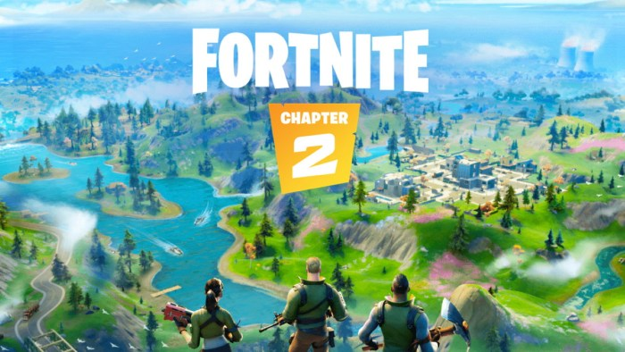 The released of the the Fortnite Chapter 2