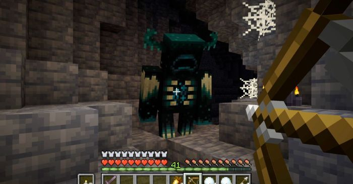 Minecraft caves as played in gaming pc