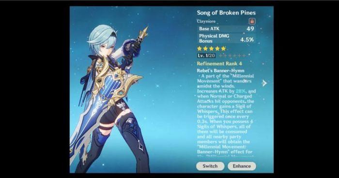 song of broken pines