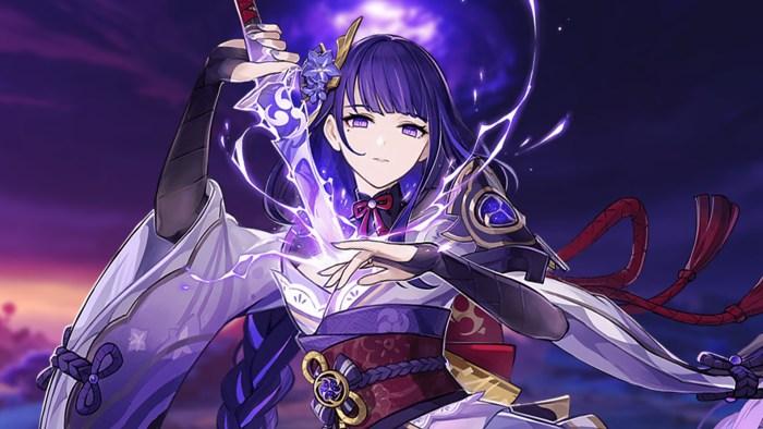raiden shogun story talents